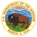 United States Department of the Interior logo